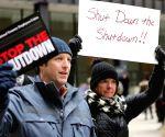 U.S. CHICAGO PARTIAL GOVERNMENT SHUTDOWN PROTEST