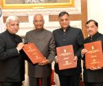 CEC meets Kovind, submits names of elected parliamentarians