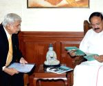 Chief Election Commissioner Sunil Arora meets Venkaiah Naidu