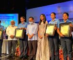 Free Photo: Chief Minister Arvind Kejriwal honours Indian Airforce officers