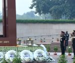 Tributes paid at the National War Memorial on 74th Infantry Day