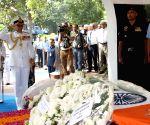 Sunil Lanba pays homage to IAF Marshal Arjan Singh