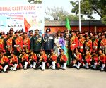 Air Chief visits NCC Republic Day Camp 2018