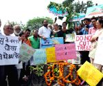 Protest against deforestation