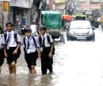 Waterlogged streets of Patna