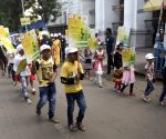 Sardar Vallabhbhai Patel's birth anniversary - Children participate in rally