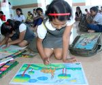 On the spot Art competition on the Occasion of 29th National Eye Donation Fortnight