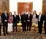 Chilean delegation led by Fidel Espinoza meets President Kovind