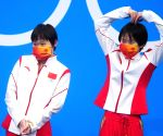 China clinches 6th straight Olympic gold in women's synchronised 10m platform