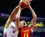 SERBIA BELGRADE BASKETBALL CHINA VS VENEZUELA