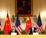 US WASHINGTON CHINA HIGH LEVEL TALKS PRESS CONFERENCE