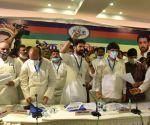 Chirag Paswan address the Lok Janshakti Party (LJP) a national executive meeting in national capital New Delhi