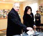 Chisinau (Moldova): Parliamentary elections