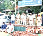 Free Photo: Chittoor police arrest two, seize 1k Karnataka liquor bottles.