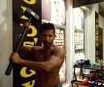 Mumbai: Terence at a Mubmai gym