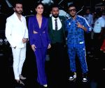 "Kareena Kapoor Khan, Punit Pathak, Bosco Martis, Raftaar at ""Dance India Dance"" sets"