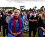 NEW ZEALAND-CHRISTCHURCH-REMEMBRANCE SERVICE