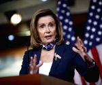 Pelosi hopes stock market selloff to prompt Trump to reach COVID-19 relief deal