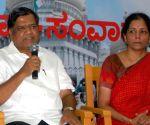 CM Jagadish Shettar addressing media at Press Club