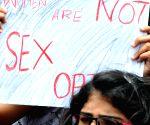 Demonstration against crimes against women