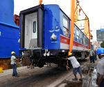 SRI LANKA COLOMBO RAILWAY CHINESE TRAIN IMPORT