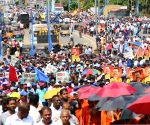 SRI LANKA COLOMBO EX PRESIDENT SUPPORTERS RALLY