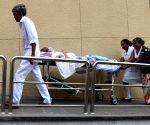 SRI LANKA COLOMBO MEDICAL SERVICE STRIKE