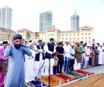 SRI LANKA COLOMBO EID AL FITR PRAY
