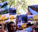 SRI LANKA-COLOMBO-UN CHIEF'S VISIT-PROTEST