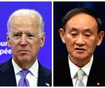 Japan PM Suga to leave for US for talks with Biden