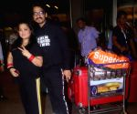 Bharti Singh and Haarsh Limbachiyaa leaves for Argentina