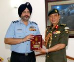 Royal Brunei Armed Forces Commander meets Marshal B.S. Dhanoa