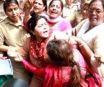 Congress activists' demonstration