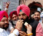 Congress celebration - Gurjeet Singh