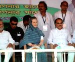 Sonia Gandhi's rally in Malda