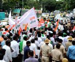 Farmers' demonstration in Bengaluru