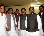 Congress general secretary Digvijay Singh's son Jaiwardhan Singh at the assembly