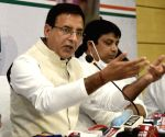 Randeep Singh Surjewala's press conference ahead of Bihar Assembly elections