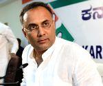 Dinesh Gundu Rao's press conference