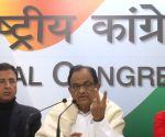 Chidambaram's press conference