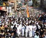 Wayanad (Kerala): Rahul Gandhi undertakes march against CAA at Wayanad