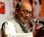 Rahul, Priyanka have the guts to take on Modi-Shah: Digvijaya