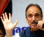 Ghulam Nabi Azad's press conference