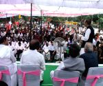 DMK's demonstration at Jantar Mantar