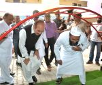 Ghulam Nabi Azad inspect Government VK Obaidullah School and PU College