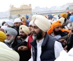 Manpreet Singh Badal pays obeisance at the Golden Temple