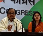 P. Chidambaram's press conference