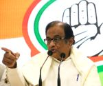 P Chidambaram press conference