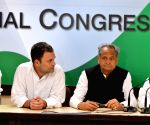 Congress' press conference