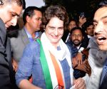 Priyanka Gandhi Vadra at Congress HQ